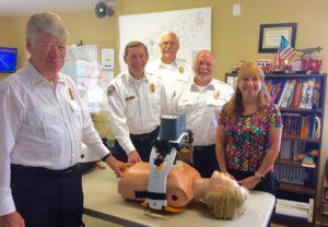 CPR device grant