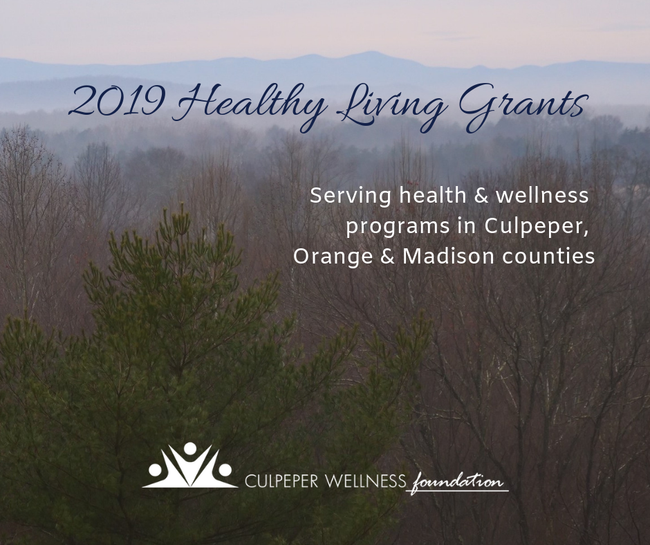 Grants | Welcome to the Culpeper Wellness Foundation